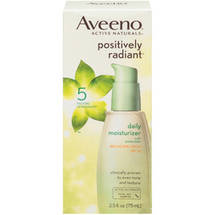 Aveeno Positively Radiant Daily Moisturizer Spf 30 Facial Moisturizers