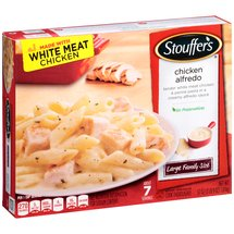 Stouffer's Large Family Size Pasta & White Meat Chicken In Alfredo Sauce Chicken Alfredo