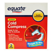 Equate Instant Cold Compress Pads