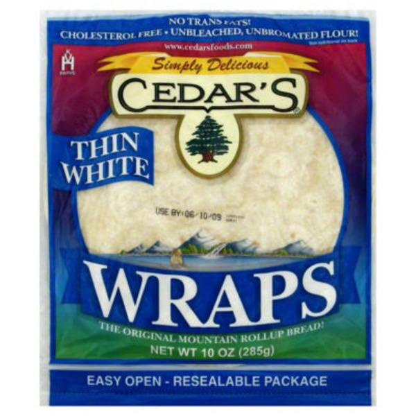 Cedar Wraps Thin White