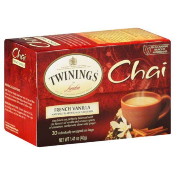 Twinings French Vanilla Chai Tea