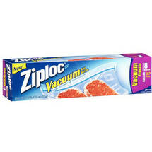 Ziploc Holds 1 Gallon Vacuum Freezer Bag Refills