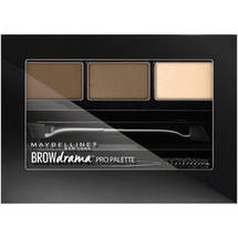 Maybelline New York Eye Studio Brow Drama Pro Palette Compact Soft Brown