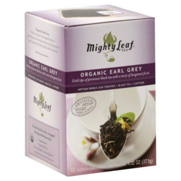 Mighty Leaf Organic Earl Grey Black Tea Bags