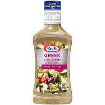 Kraft Greek Vinaigrette Dressing & Marinade