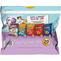 Frito-Lay Spring Fun Mix Flavored Snacks Variety Pack