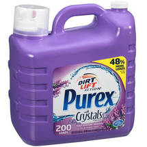 Purex with Crystals Fragrance Fresh Lavender Blossom Liquid Laundry Detergent
