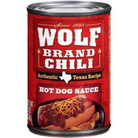 Wolf Brand Chili Hot Dog Sauce Authentic Texas Recipe