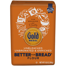 Gold Medal Harvest King Unbleached White Better For Bread Flour