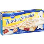 Pillsbury Toaster Strudel Cream Cheese & Strawberry