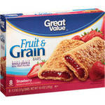 Great Value Strawberry Fruit & Grain Bars