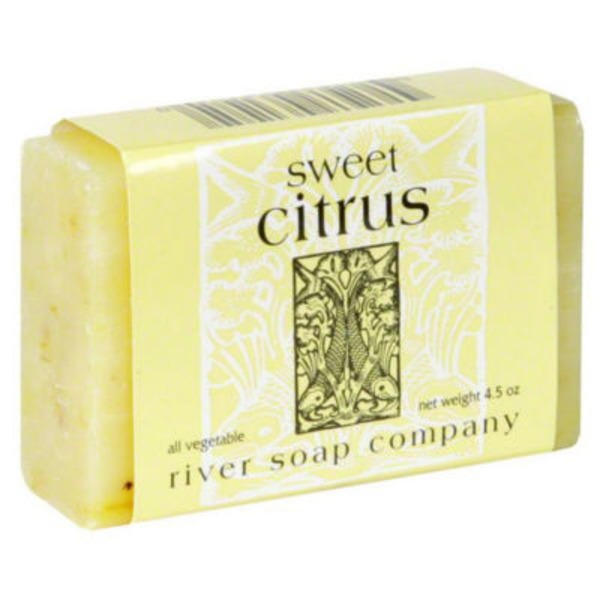 River Soap Company Sweet Citrus Soap Bar