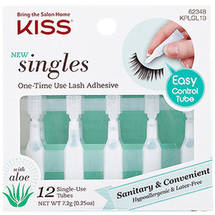 Kiss One-Time Use Lash Adhesive Singles with Aloe