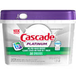 Cascade Platinum with Dawn Fresh Scent Dishwasher Detergent Action Pacs