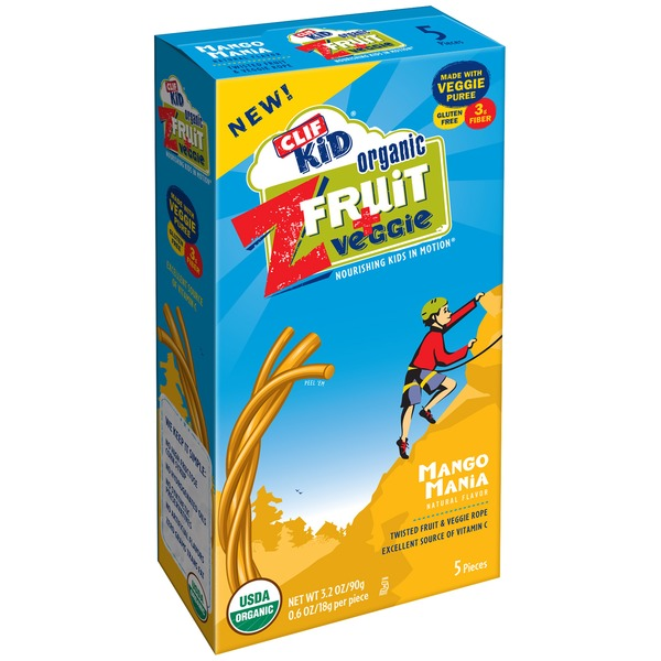 Clif Kid® Mango Mania ZFruit and Veggie