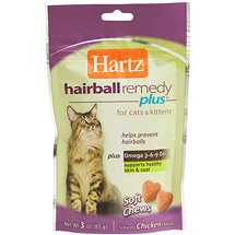 Hartz Hairball Remedy Plus Soft Chews