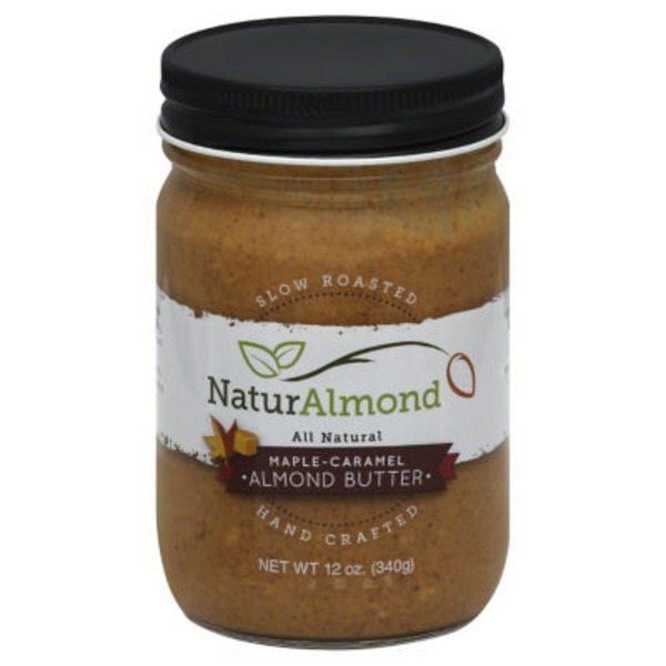 NaturAlmond Almond Butter, Maple-Caramel
