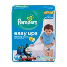 Pampers Easy Ups Boys Training Pants 4T-5T