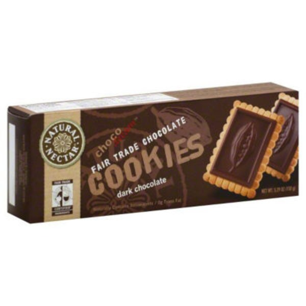 Natural Nectar Fair Trade Dark Chocolate Cookies