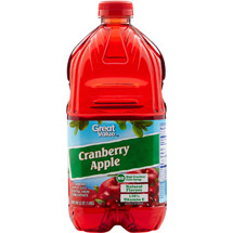 Great Value Cranberry Apple Juice Cocktail