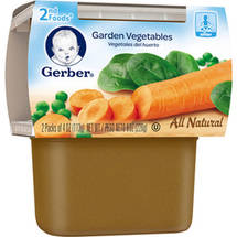 Gerber 2nd Foods Garden Vegetables Baby Food