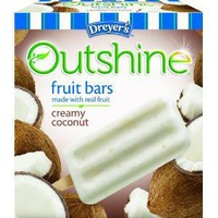 Edy's Outshine Creamy Coconut Fruit Bars