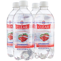 Clear American Strawberry Sparkling Water Beverages
