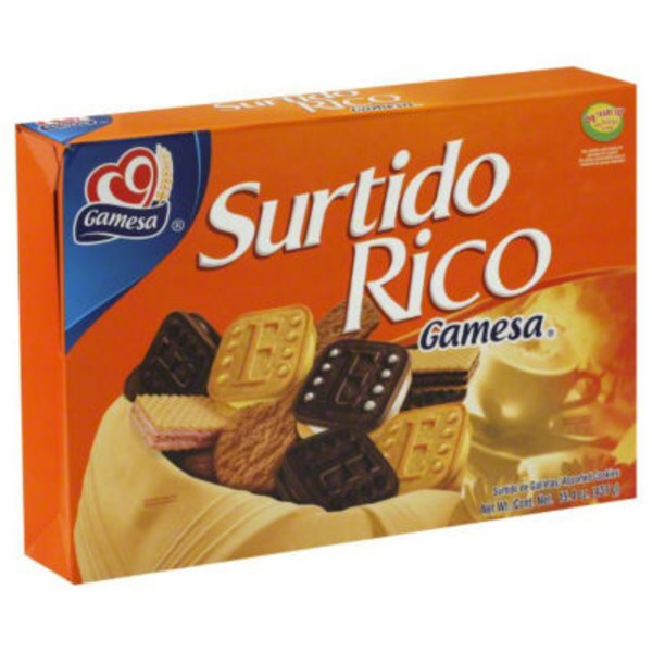 Gamesa Cookies, Surtido Rico, Assorted