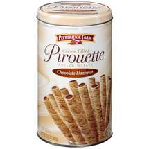 Pepperidge Farm Pirouette Chocolate Hazelnut Rolled Wafers Rolled Wafers