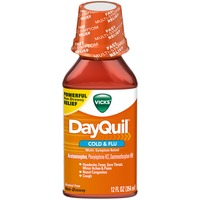 Vicks DayQuil Cold & Flu Relief Liquid 12 fl oz Respiratory Care