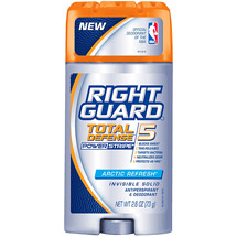 Right Guard Xtreme Invisible Solid Arctic Refresh w/Powerstipe Anti-Perspirant/Deodorant