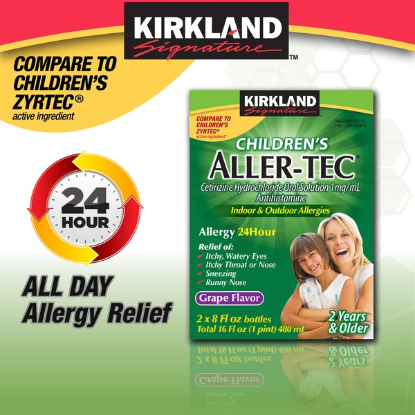 Kirkland Signature Children's Allertec