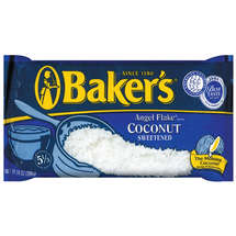 Kraft Baking & Canning Baker's Sweetened Coconut Angel Flakes