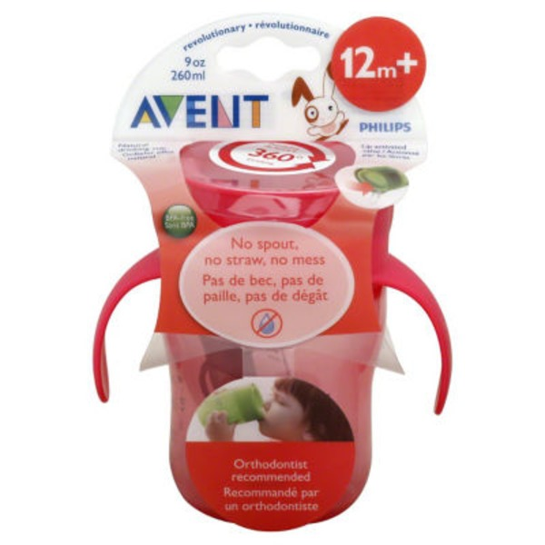 Avent Natural Drinking Cup 12 M+