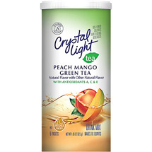 Crystal Light Green Tea With Peach & Mango Drink Mix