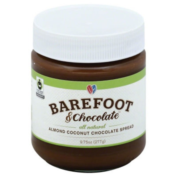 Barefoot & Chocolate Almond Coconut Chocolate Spread