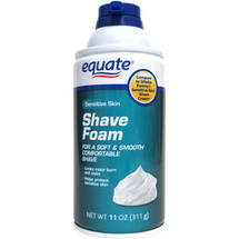 Equate Sensitive Skin Shave Foam
