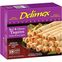 Delimex Beef & Cheese Large Taquitos