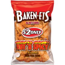 Baken-Ets Hot 'N Spicy Chicharrones Fried Pork Skins