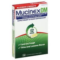 Mucinex Dm Maximum Strength Extended-Release Bi-Layer Tablets Expectorant & Cough Suppressant