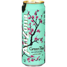 Arizona Green Tea With Ginseng & Honey 23 oz