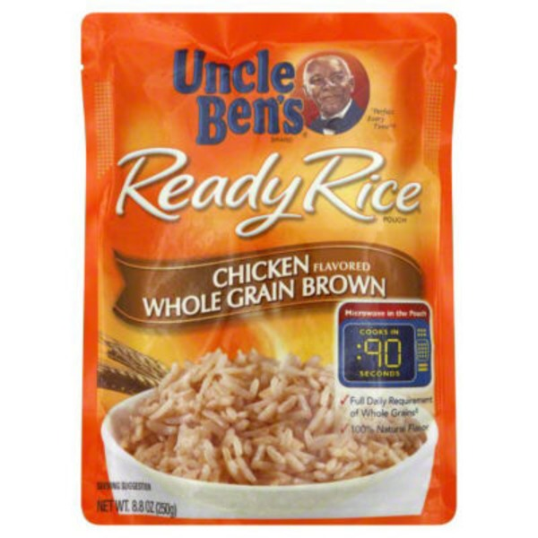 Uncle Ben's Ready Rice Chicken Flavored Whole Grain Brown