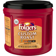 Folgers Custom Roast Mild Ground Coffee