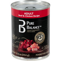 Pure Balance 95 Percent Beef and Chicken Dog Food