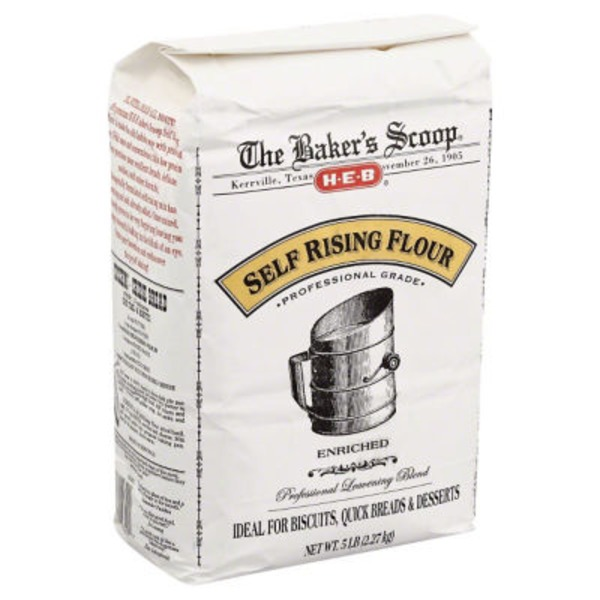 H-E-B The Bakers Scoop Self Rising Enriched Flour