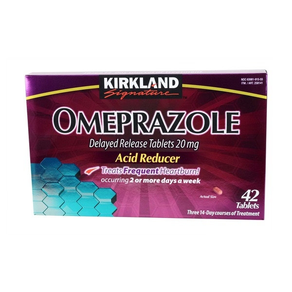 Kirkland Signature Omeprazole Acid Reducer Tablets