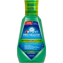 Crest Invigorating Clean Multi Protection Mint Oral Rinse