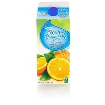 Great Value 100% Orange Juice  With Calcium  64 Fl Oz