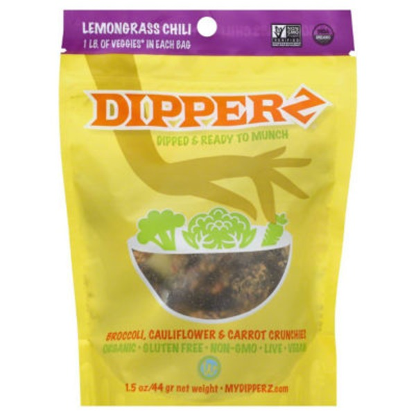 Wonderfully Raw Gourmet Lemongrass Chilli Dipperz