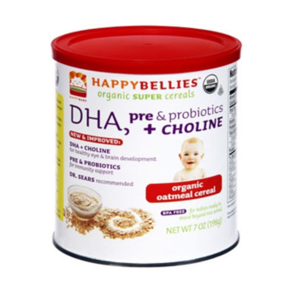 Happy Baby/Family Organic Probiotic Oatmeal Baby Cereal
